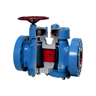 Christensen PR Double Block and Bleed conical lubricated plug valves type 55 DBB