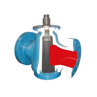 Christensen PR conical plug valves for cement plants