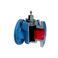 Christensen PR lubricated Taper Plug Valves for low pressure Type 9