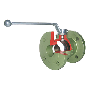 Flanschkugelhähne für GAS - F10TG