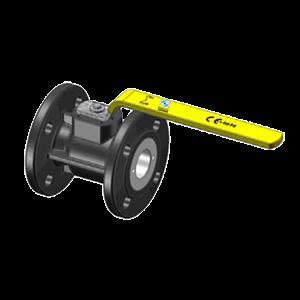 KÄHLER - Flanschkugelhähne für GAS - F30TG